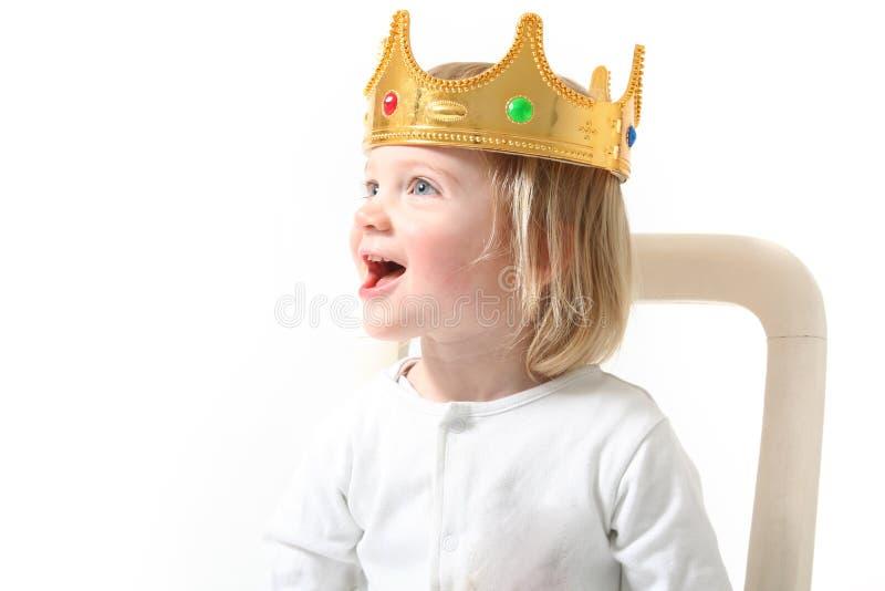 dziecko króla obrazy royalty free