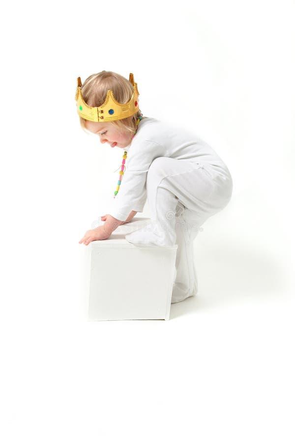 dziecko króla zdjęcia stock