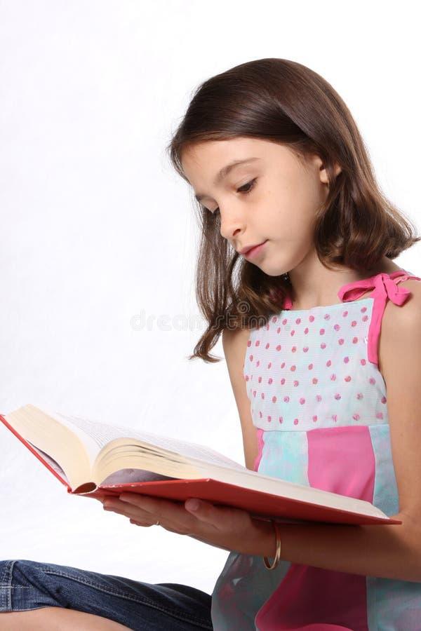 dziecko książki dziewczyny odczyt young zdjęcia stock