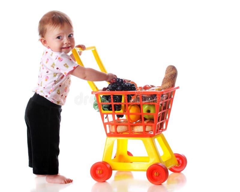dziecko kupujący fotografia royalty free