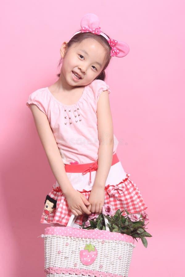 dziecko kwiaty zdjęcie stock