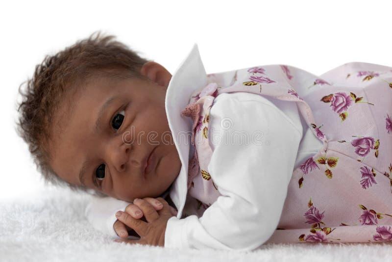 dziecko - lala nowonarodzona zdjęcie stock