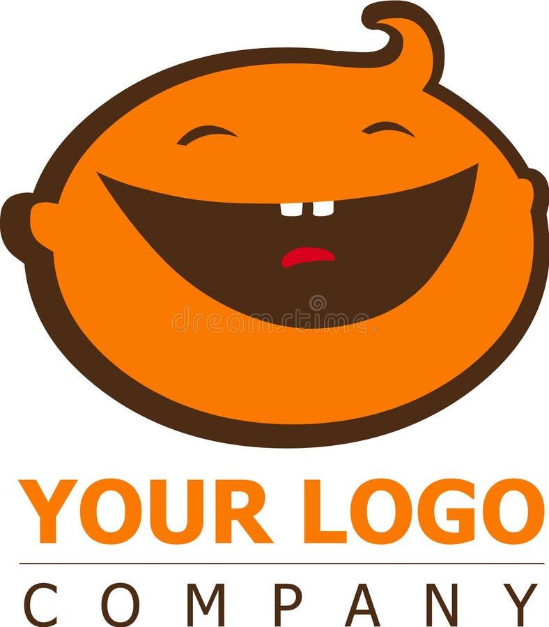 Dziecko logo royalty ilustracja