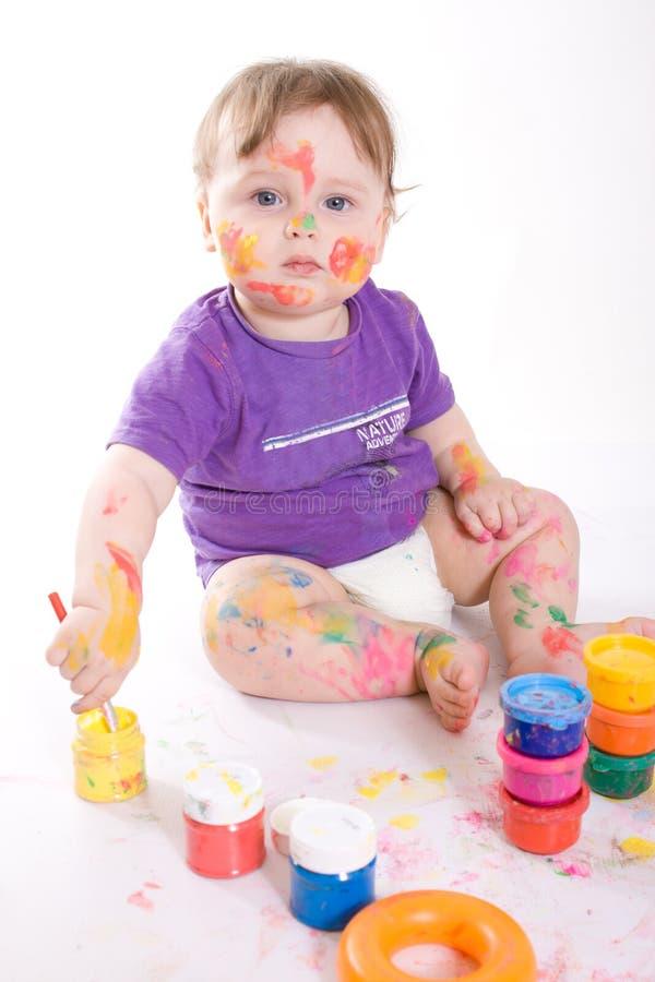 Dziecko mały obraz fotografia stock