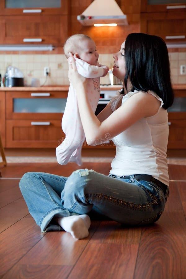 dziecko matka obraz royalty free