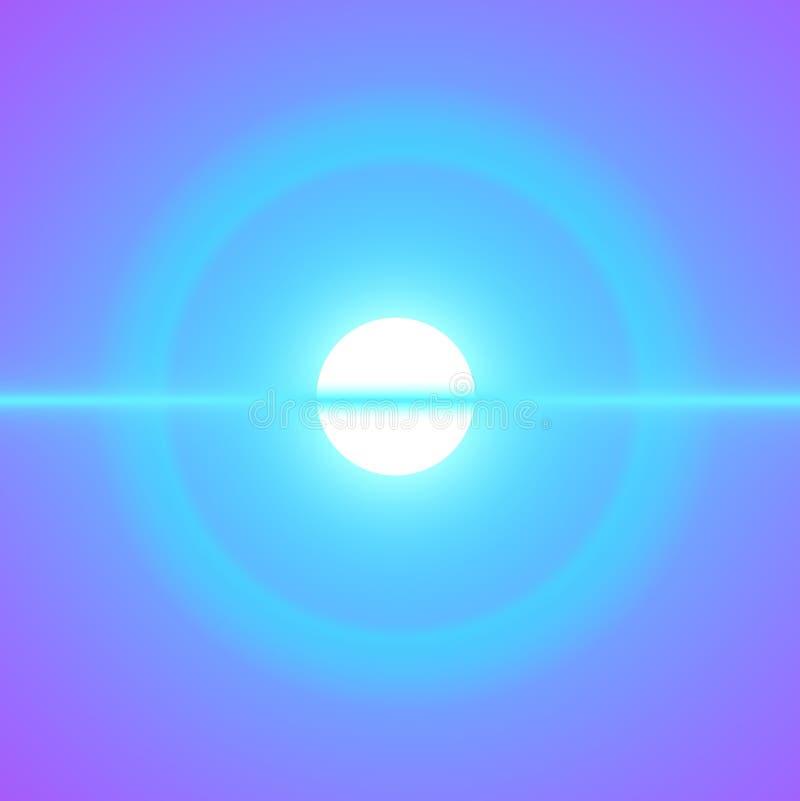 dziecko niebieskiego nieba słońce royalty ilustracja