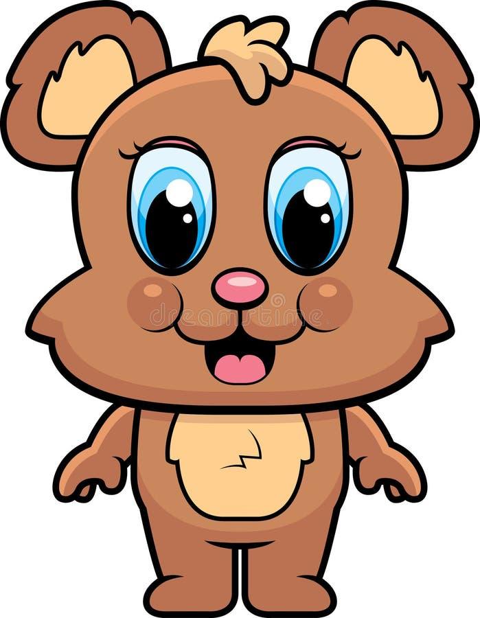 dziecko niedźwiedź ilustracja wektor