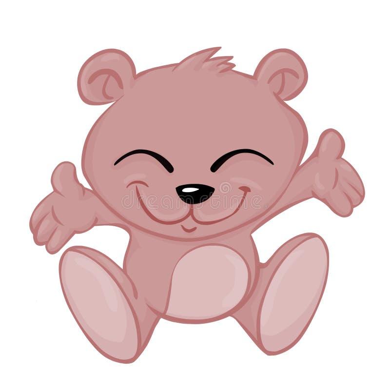 dziecko niedźwiedź ilustracji