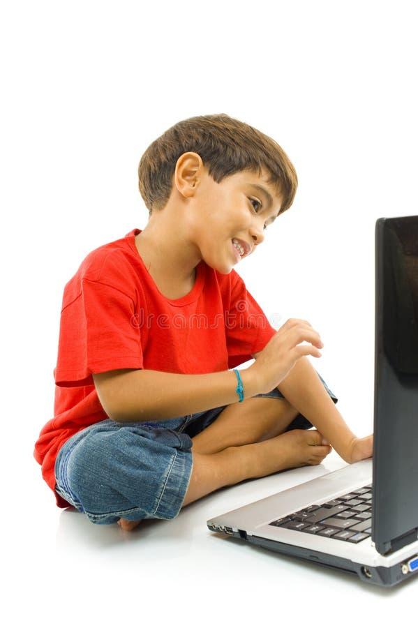 dziecko notatnik zdjęcia stock