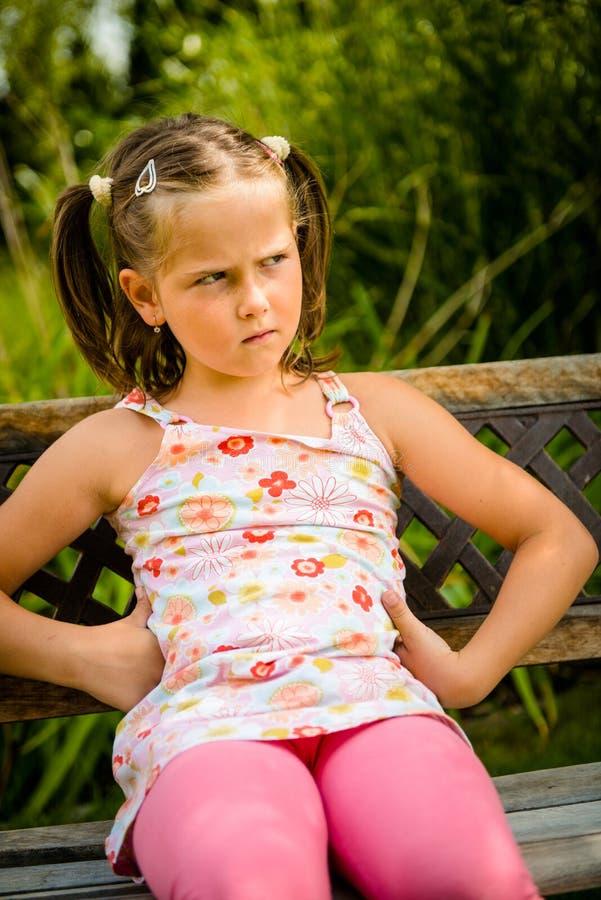 dziecko obrażający zdjęcie stock
