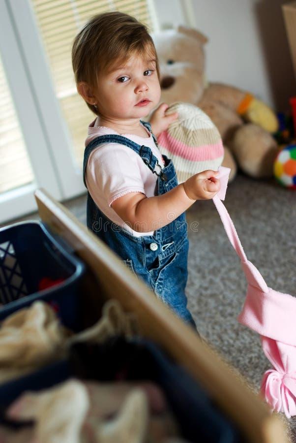 dziecko odziewa zdjęcie stock