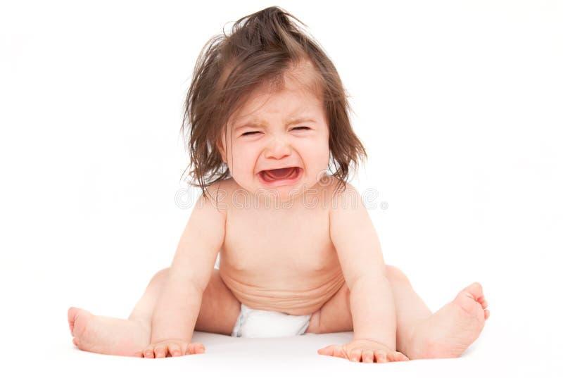 dziecko płacz zdjęcia stock