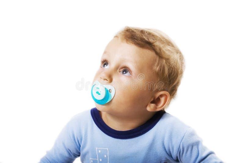 dziecko pacyfikator obrazy royalty free