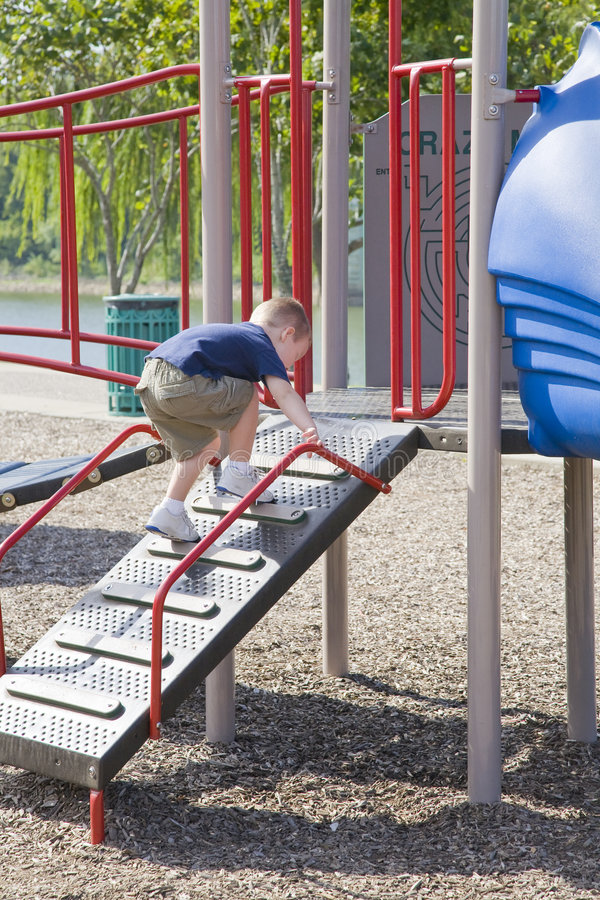 dziecko park zdjęcia royalty free