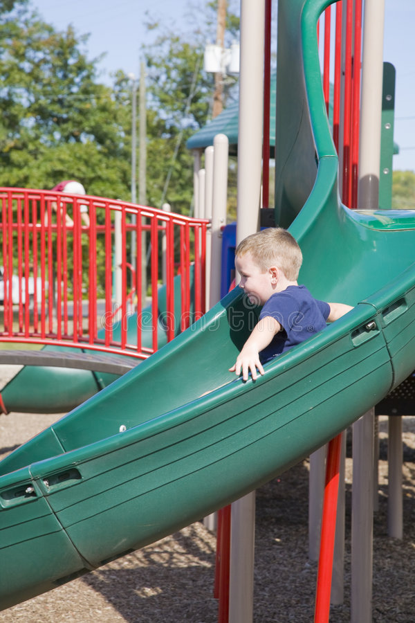 dziecko park obrazy royalty free