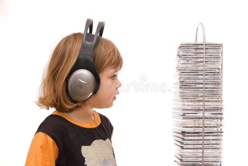 dziecko piosenki zdjęcie royalty free
