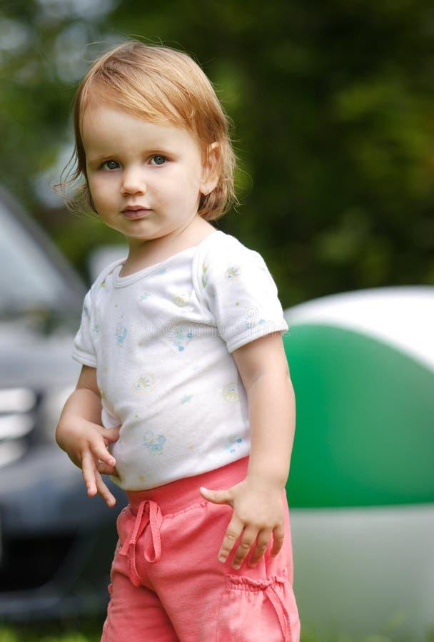 Dziecko plenerowy zdjęcie stock