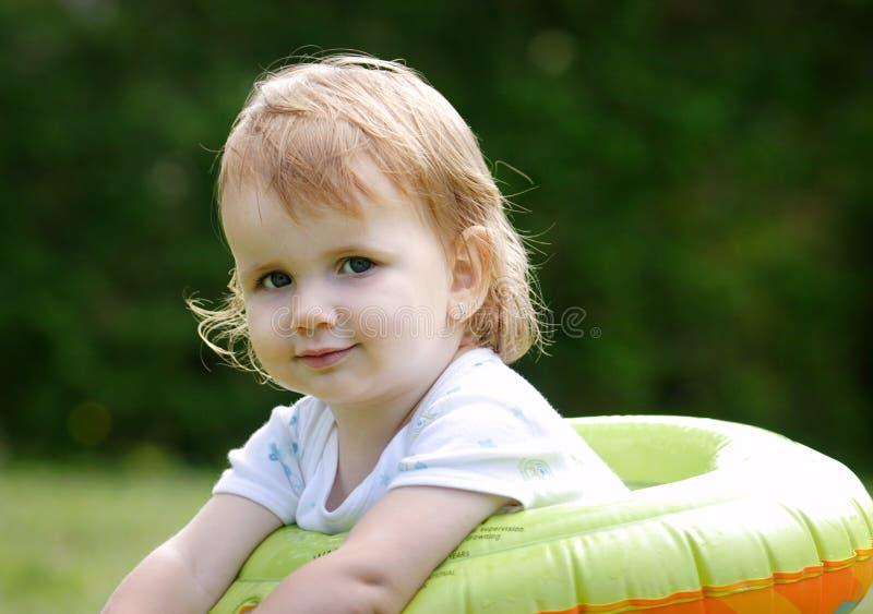Dziecko plenerowy zdjęcia royalty free