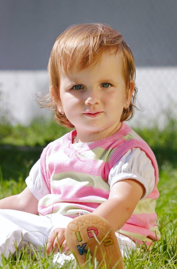 Dziecko plenerowy zdjęcie royalty free