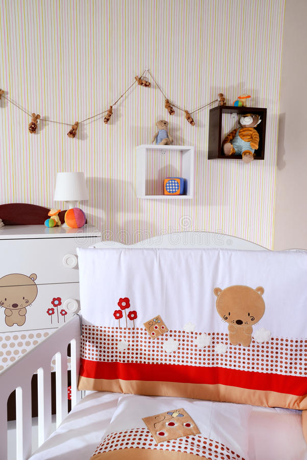 Dziecko pokój obrazy royalty free
