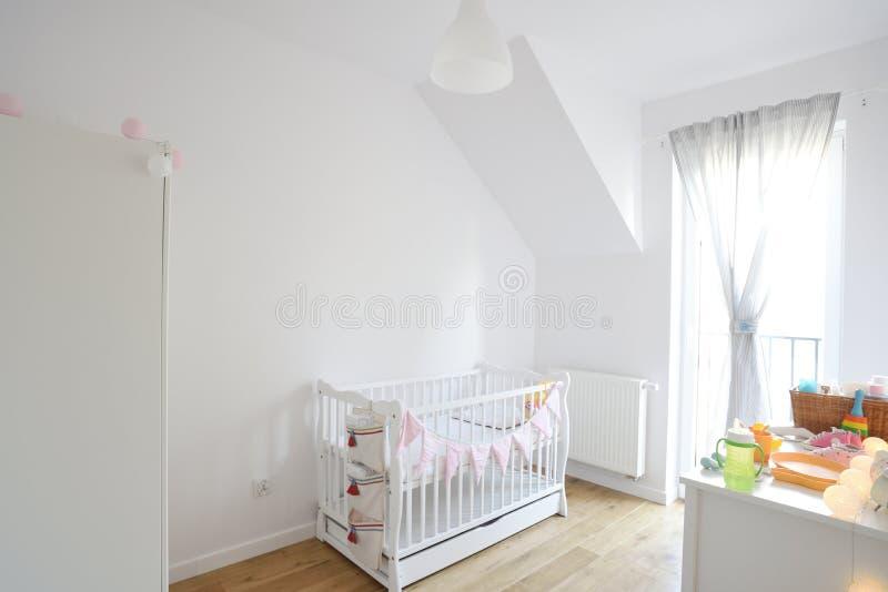 Dziecko pokój w scandinavian stylu obraz stock