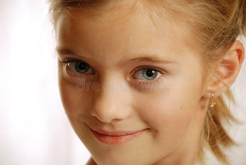 dziecko polubowny portret widok obraz stock
