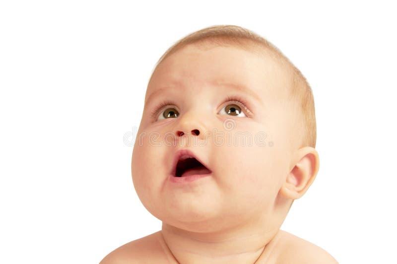 dziecko portret śliczny mały obrazy stock