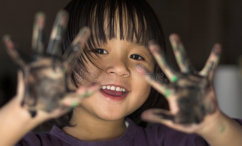 dziecko radość obrazy stock