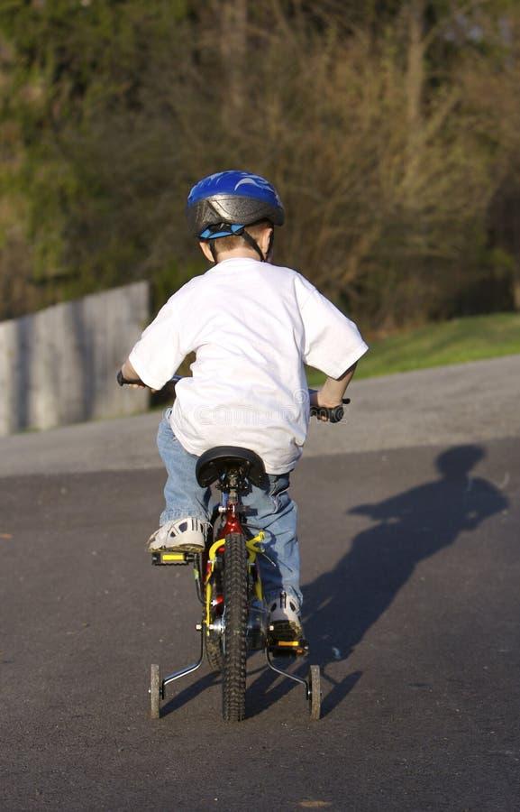 dziecko roweru zdjęcie royalty free
