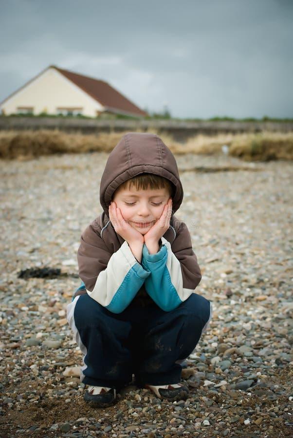 dziecko rozważny fotografia stock