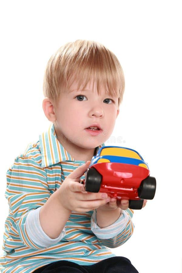 dziecko samochodowa zabawka zdjęcia royalty free