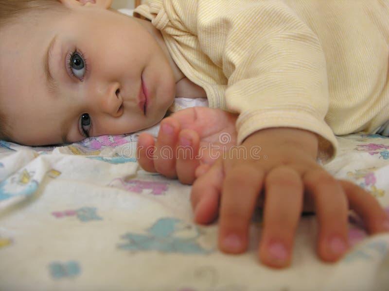 dziecko sen obraz royalty free