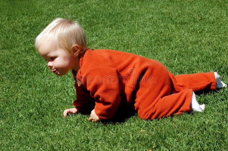 dziecko się zdjęcia royalty free