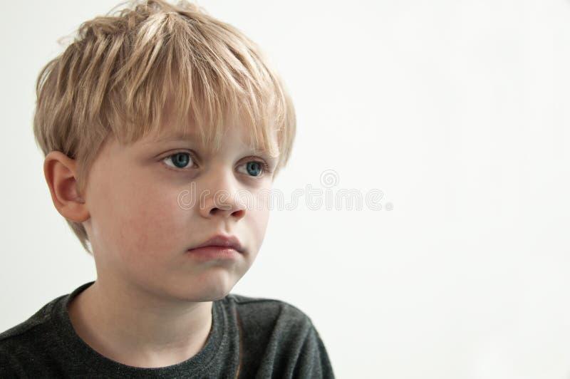 dziecko się martwić obrazy stock