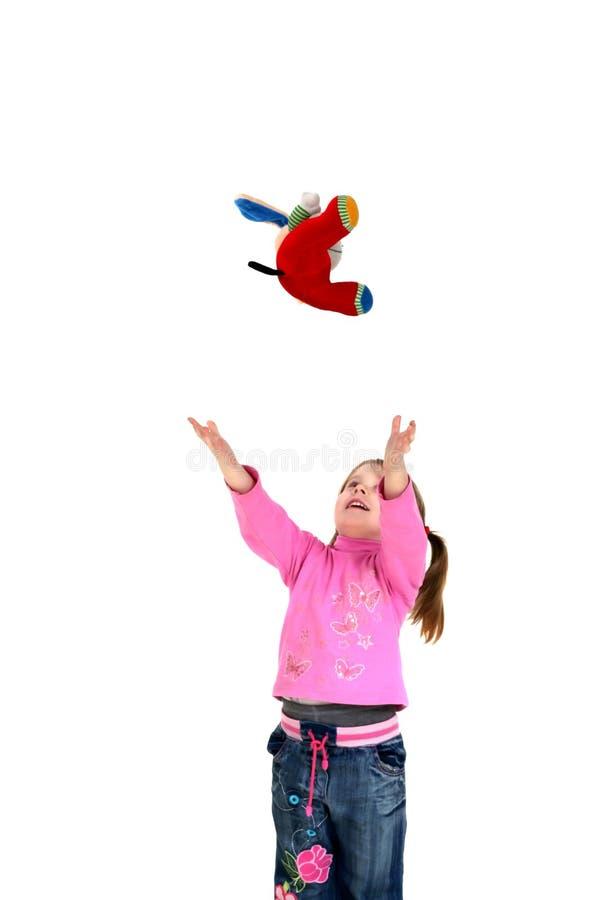 dziecko się rzuca, fotografia royalty free