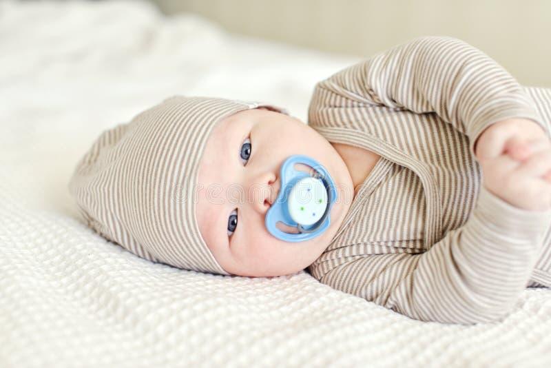 dziecko smoczek zdjęcie stock