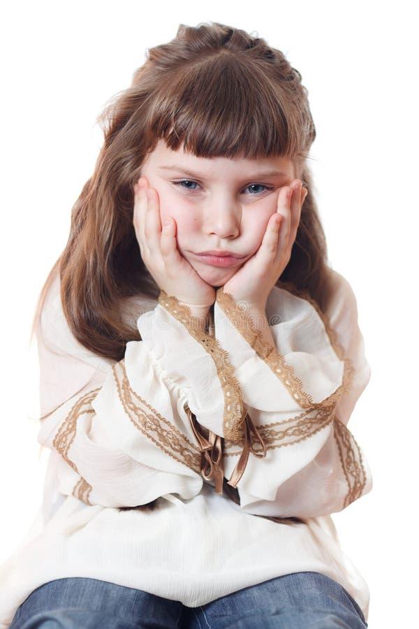 dziecko smutny obrazy stock