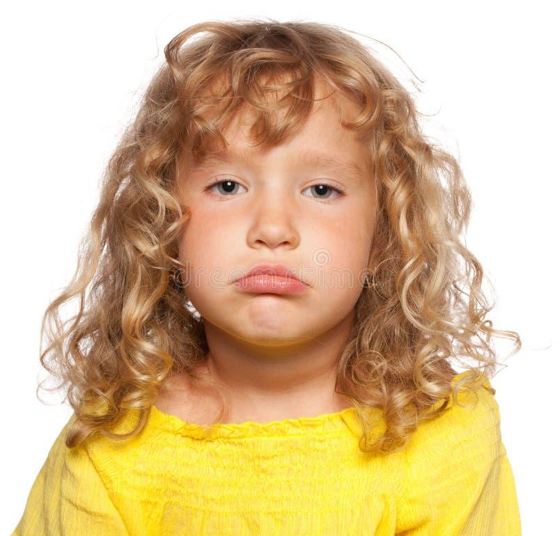 dziecko smutny zdjęcia royalty free