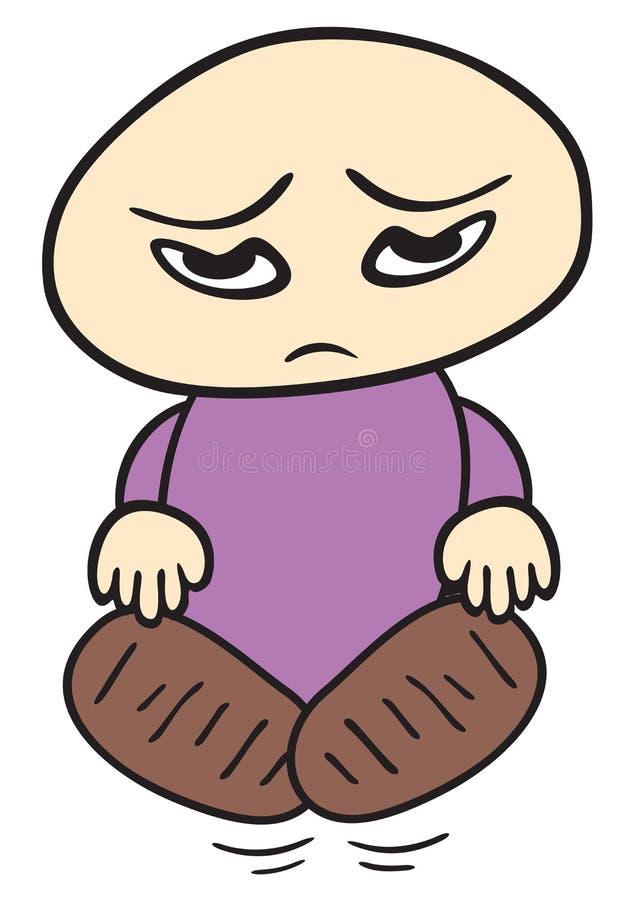 Dziecko smutny