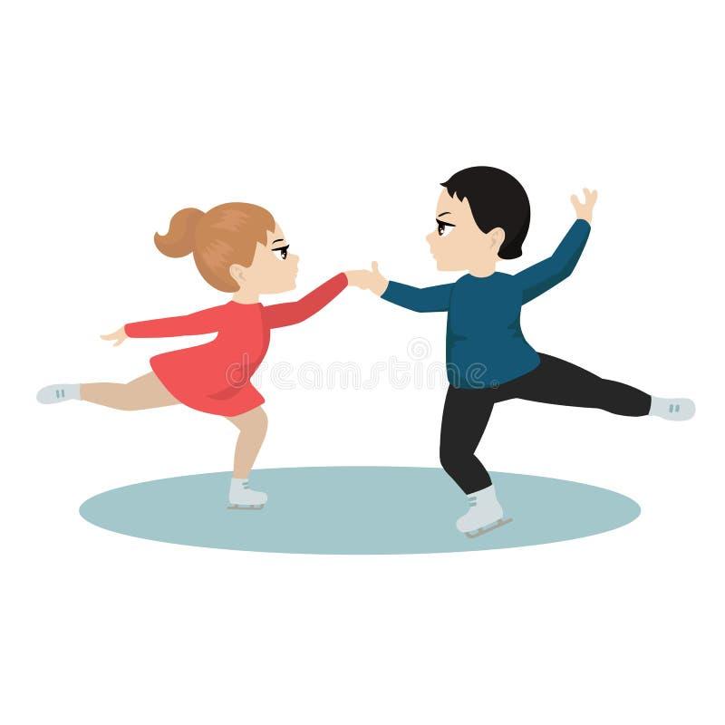 Dziecko sporta ilustracja ilustracja wektor