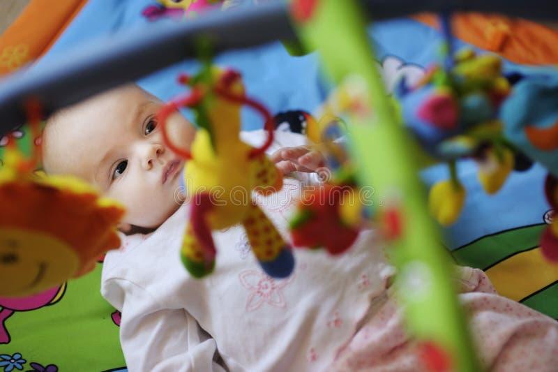 dziecko starego cztery miesiąc zdjęcia royalty free