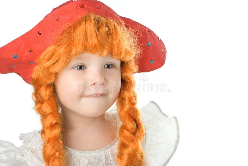dziecko sukni trochę fantazji obraz stock