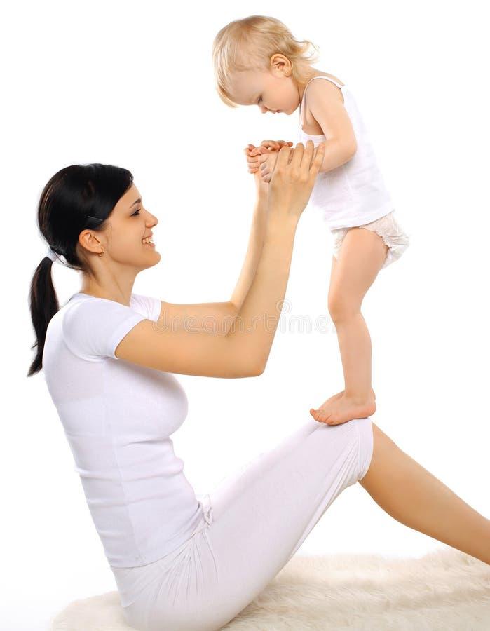 Download Dziecko szczęśliwa mama zdjęcie stock. Obraz złożonej z zdrowy - 42525716