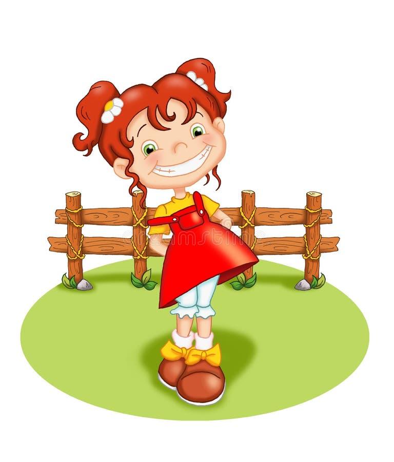dziecko szczęśliwy royalty ilustracja