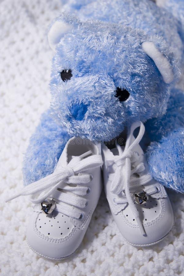 dziecko teddy butów. fotografia stock