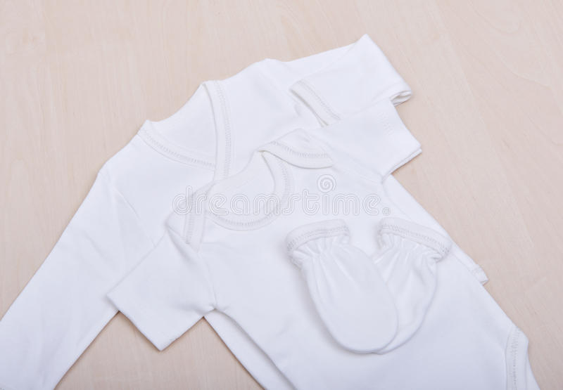 Dziecko towary Dziecko bluzka i spodnie suwaków pijama Dziecka ` s pieluszek piżam mitynek ubraniowe skarpety przekazują suwaki b fotografia royalty free