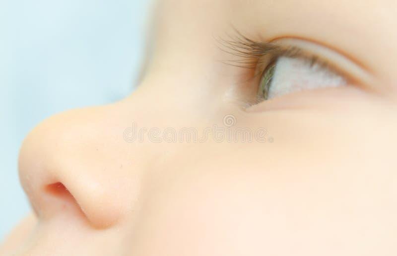 Dziecko twarz obrazy stock