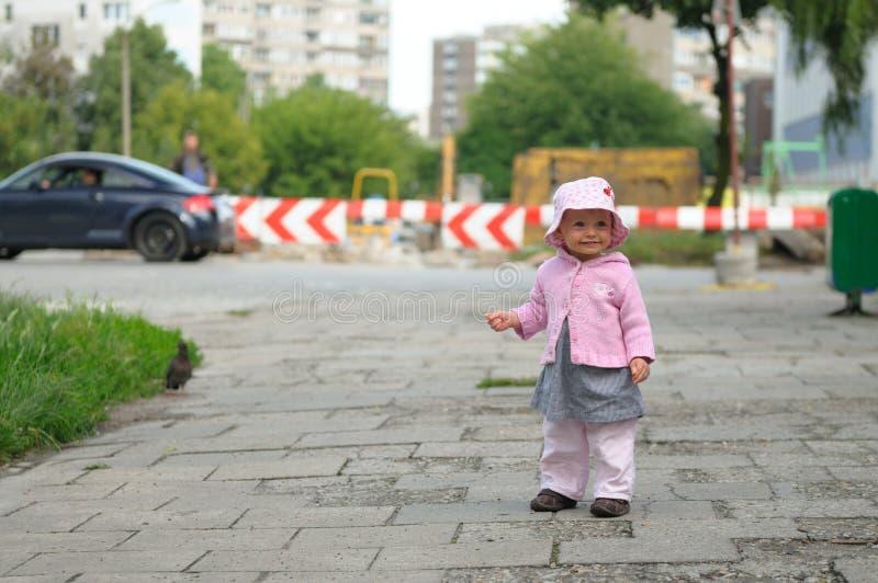 dziecko ulica obraz stock