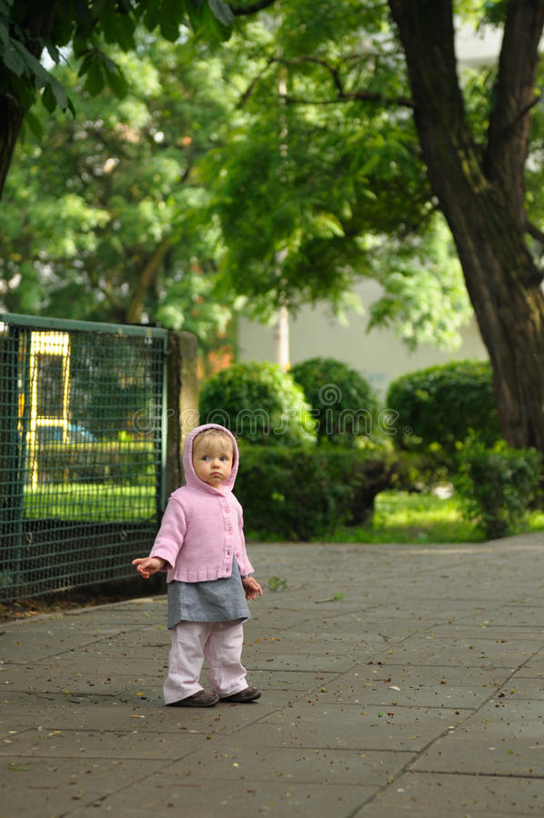 dziecko ulica obrazy stock