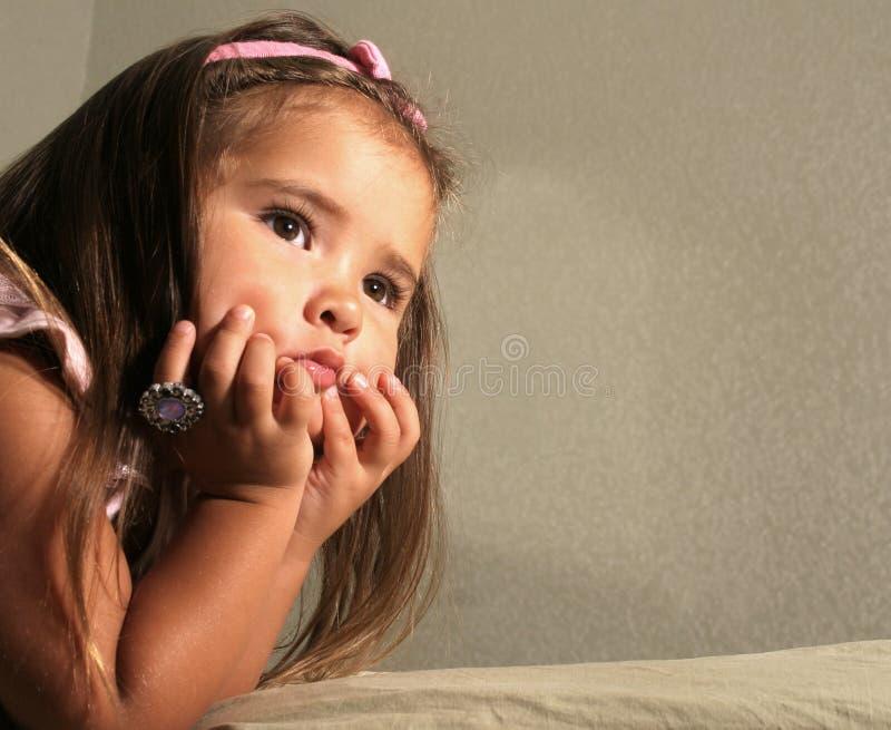 dziecko w spokoju zdjęcie stock